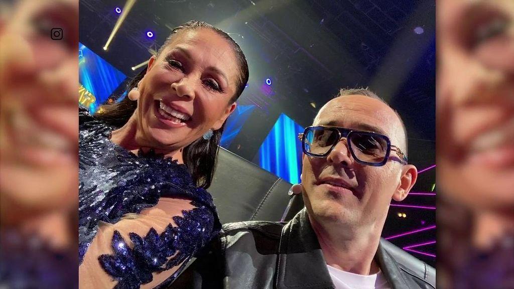Isabel Pantoja se enfada tras publicarse esta foto con Risto Mejide