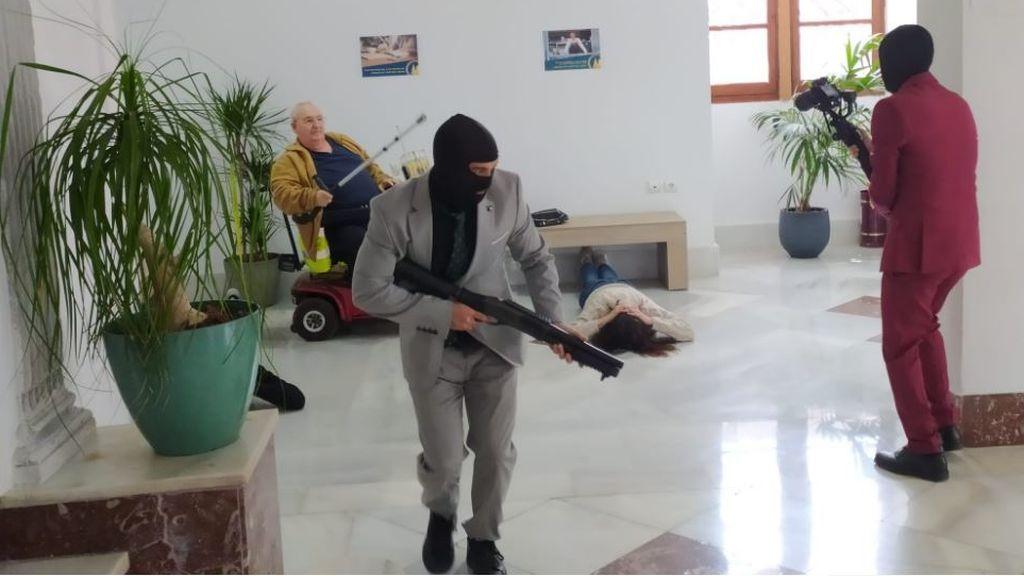 La Guardia de Civil interviene en un 'asalto de película' en Alginet