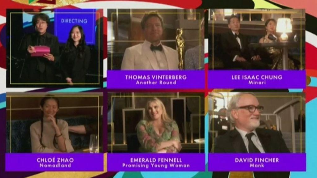 'Nomadland' arrasa en unos Premios Oscars deslucidos por la pandemia