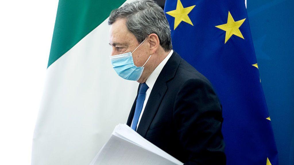 """Draghi lanza el plan de inversiones europeas para """"cambiar el destino de Italia"""""""