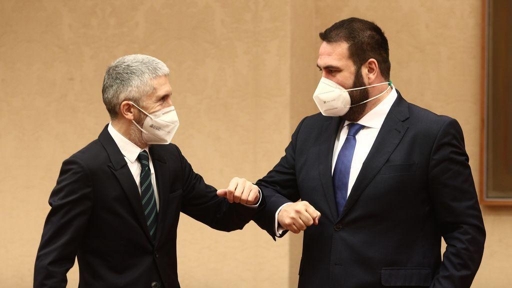 EuropaPress_3570276_ministro_interior_fernando_grande-marlaska_saluda_diputado_eh_bildu_jon