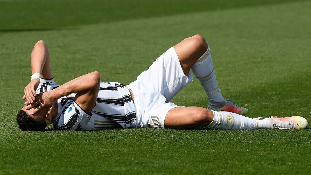 """Cristiano Ronaldo, foco de las críticas en Italia por su sequía goleadora y sus ganas de irse: """"¿Pero, estás ahí?"""""""