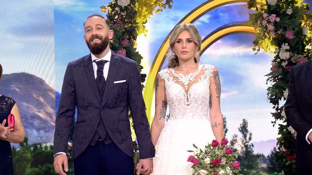 Kevin y Rocío aciertan la edad d ela novia
