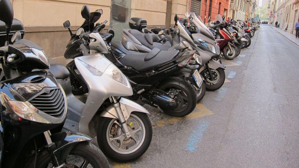 El número de motos en España crece un 21% en una década