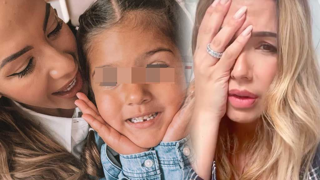 """Shaila, la hija de Tamara Gorro, sufre un fuerte golpe en la cara: """"Menudo susto llevo en el cuerpo"""""""