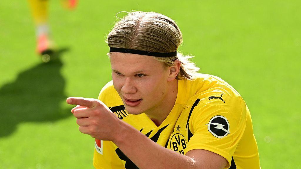 En el Borussia Dortmund respiran tranquilos: creen que Haaland se quedará una temporada más