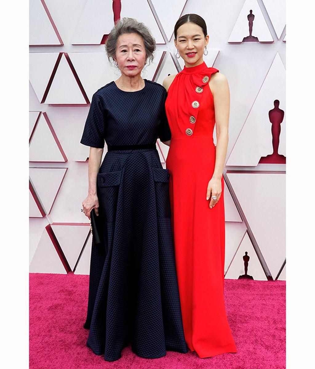 Youn Yuh-jung y Han Ye-ri