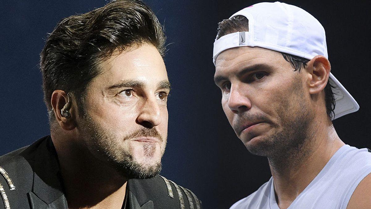 """David Bustamante se compara con Rafa Nadal y se ve obligado a dar explicaciones: """"Qué hacéis mezclando la política"""""""