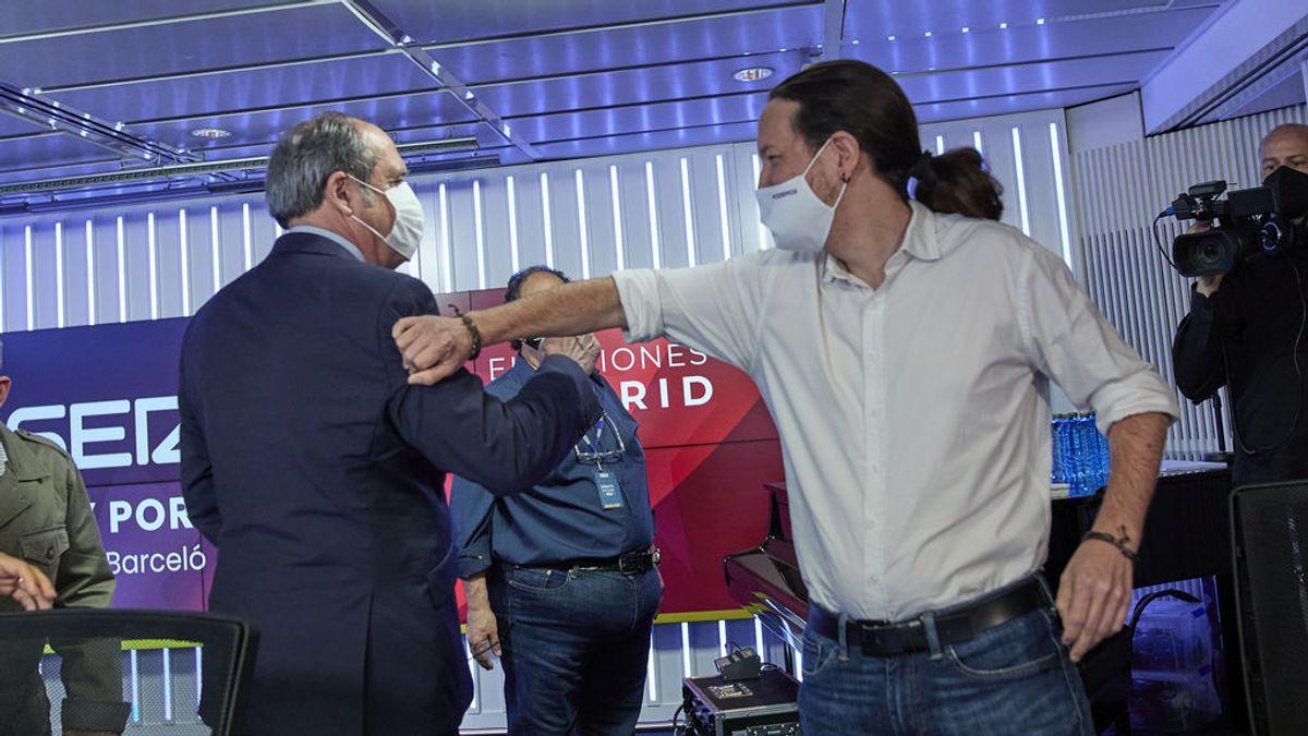 """Iglesias en la SER: """"Nos correrían a gorrazos si no pactamos"""""""