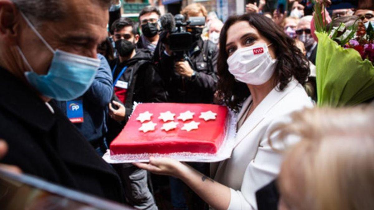 La candidata del PP a revalidar la presidencia de Madrid, Isabel Diaz Ayuso