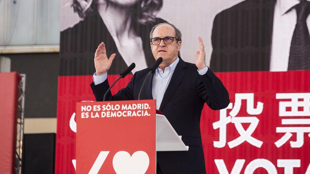 Ángel Gabilondo en campaña