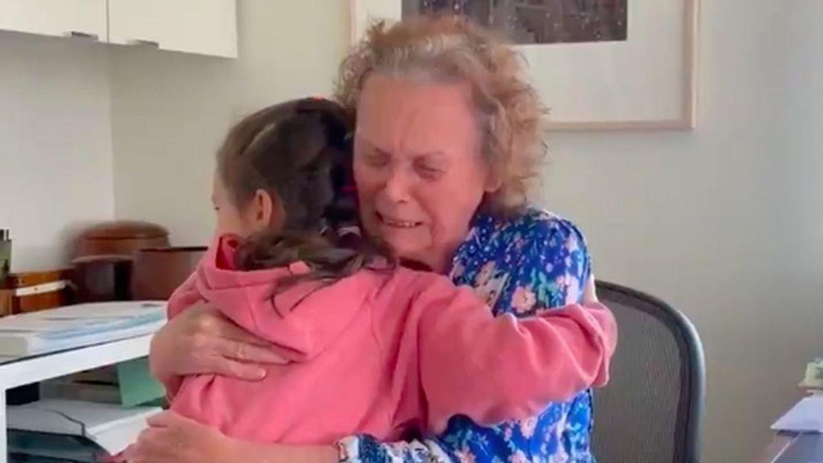 reencuentro abuela-nieta