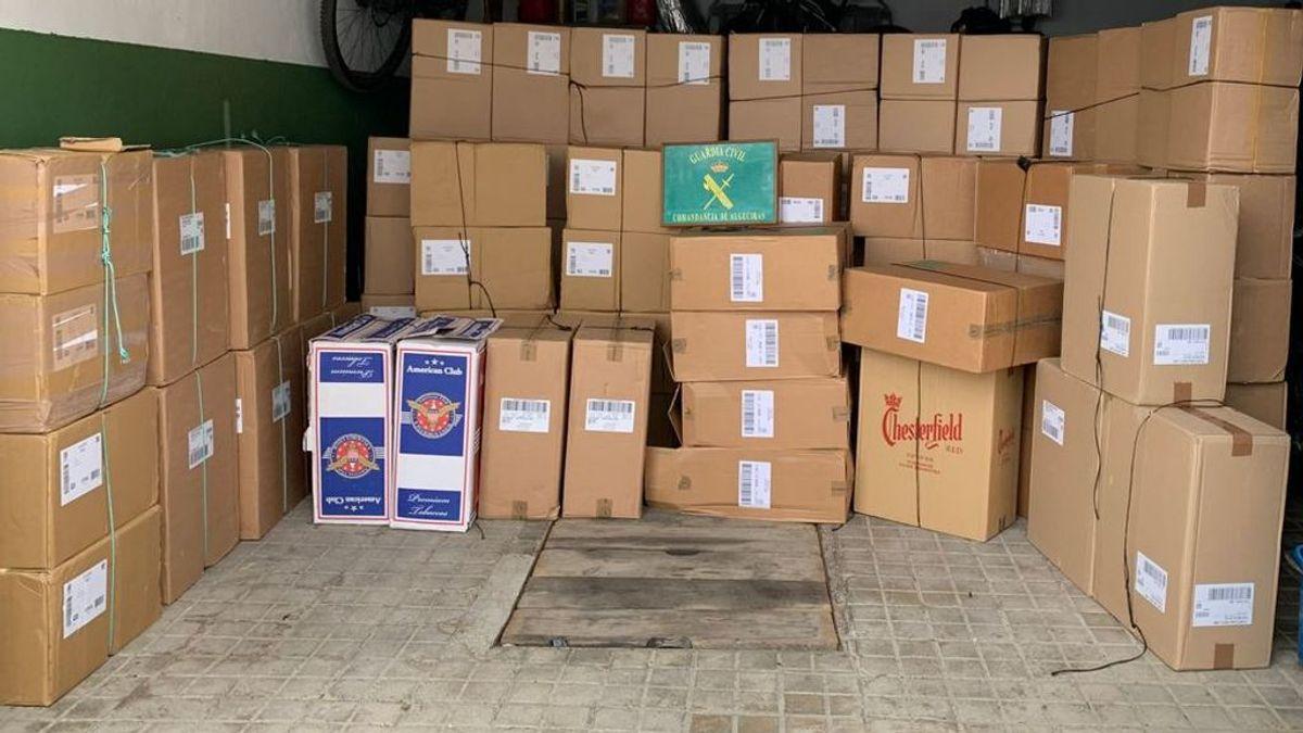 La Guardia Civil interviene en Cádiz más de 49.000 cajetillas de tabaco