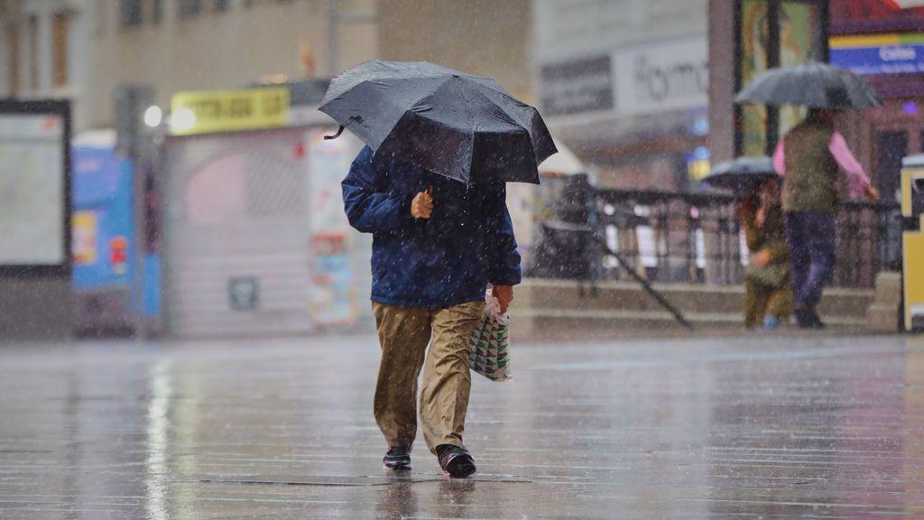 'Lola' no es la única borrasca que nos afectará esta semana: ¿dónde y cuándo va a llover?