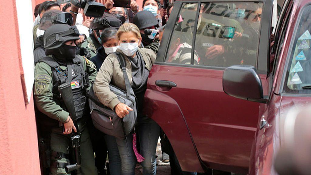 El Senado de Bolivia prepara otro juicio contra la expresidenta Jeanine Áñez por usurpación de funciones