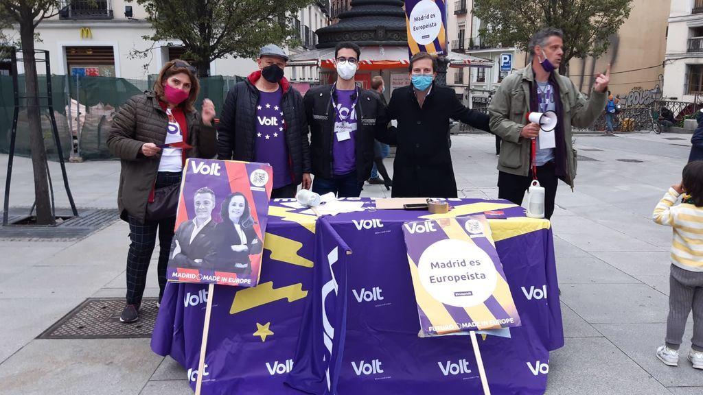 ¿Quién es Volt? el partido 'millennial',  tecnológico, verde y paneuropeo que se presenta a las elecciones en Madrid