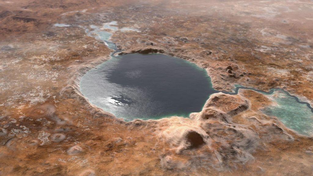 ¿Hubo ríos y lagos en Marte? Un nuevo estudio cree que nubes altas de hielo lo hicieron posible
