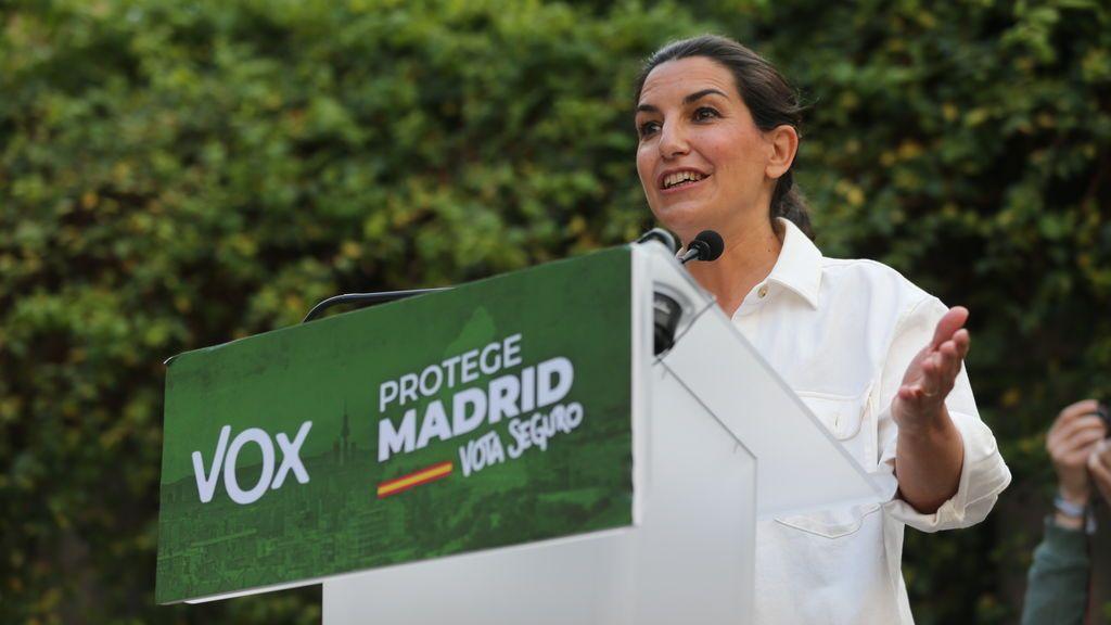 Rocío Monasterio en campaña