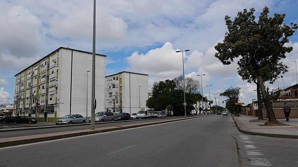 La avenida  Blas Infante en Jerez de la Frontera