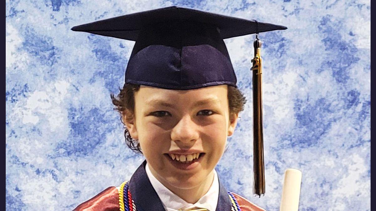 Mike Wimmer, el niño prodigio de 12 años que se gradúa de la universidad y ya tiene un perfil en Linkedin