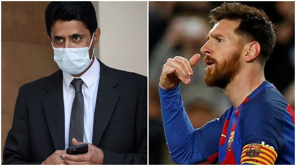 Al-Khelaïfi diseñó personalmente la oferta a Leo Messi: el PSG espera que el argentino la escuche al final de temporada