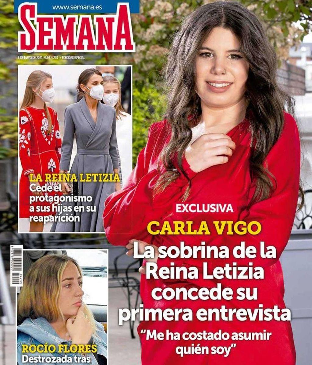La portada de Carla Vigo Ortiz