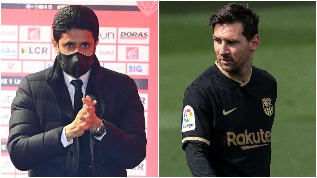 Al Khelaifi va a intentar hasta el final el fichaje de Messi.