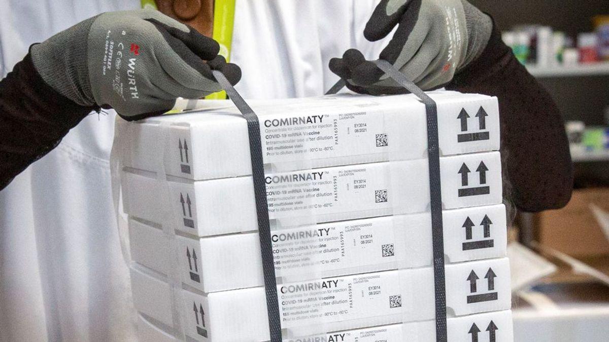 Esta semana llegarán a España dos millones de vacunas más, que se suman a los otros dos recibidos el lunes