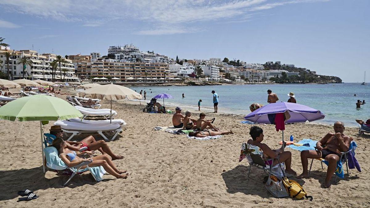 Turistas en Ibiza