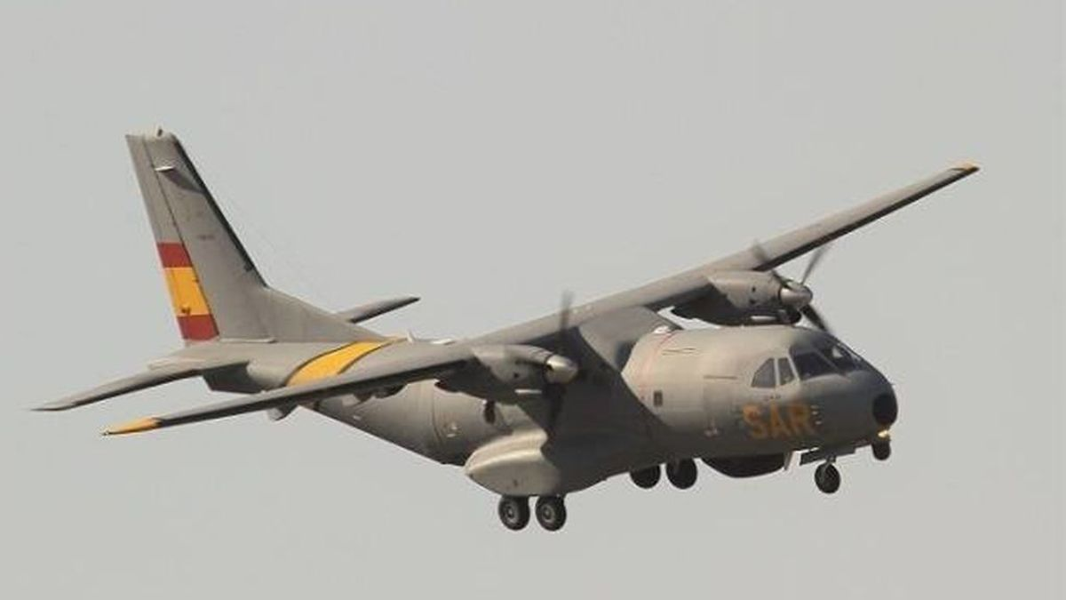 Defensa tiene un avión preparado