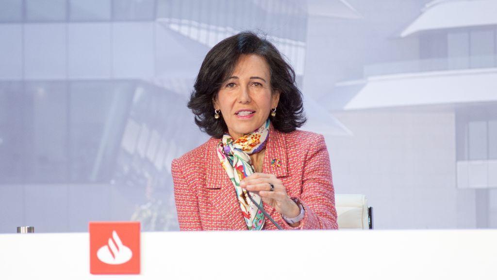 El Santander dispara sus beneficios y gana 1.608 millones de euros en tres meses