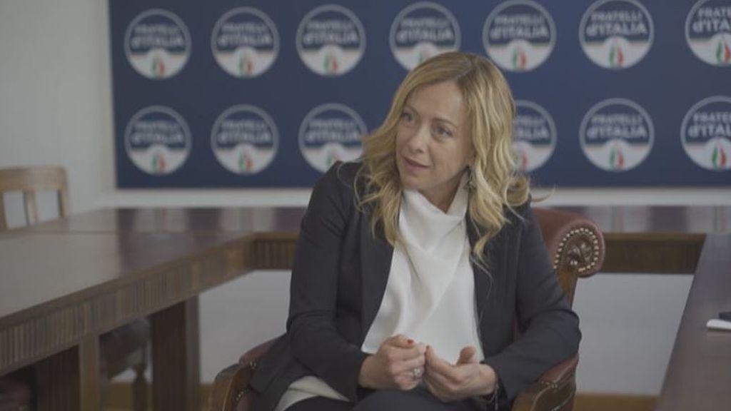 Entrevista completa a Giorgia Meloni, estrella de la ultraderecha italiana