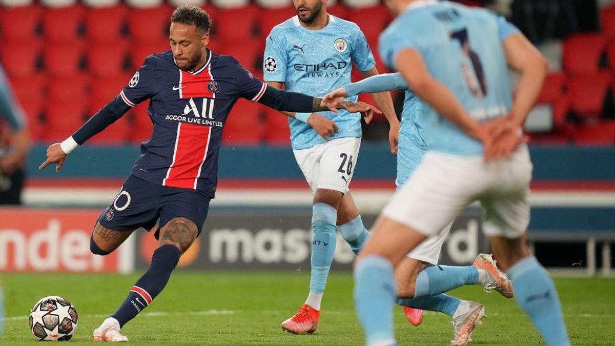 """Neymar saca su repertorio de mago para volver loco al City: """"Está a un nivel extraordinario"""""""