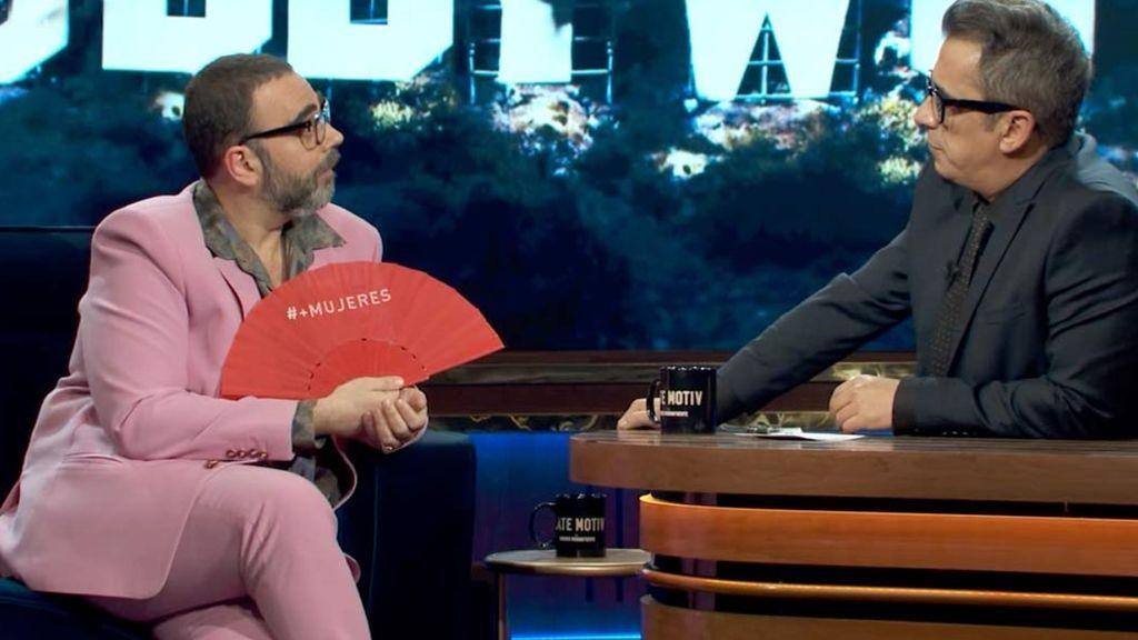 Bob Pop con Andreu Buenafuente en 'Late Motiv'