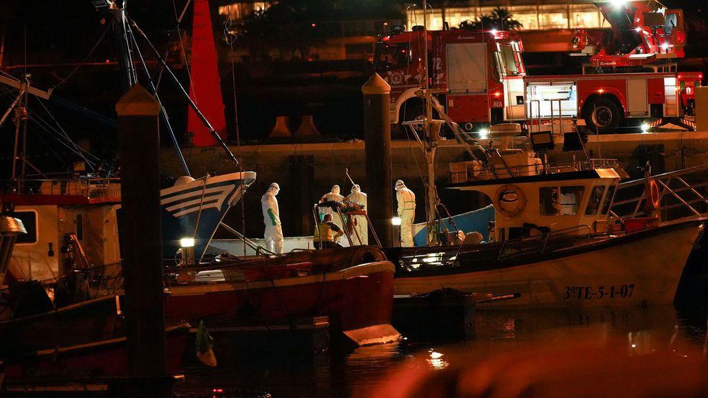 Dos menores entre los 24 muertos en el cayuco que estuvo 3 semanas a la deriva en Canarias