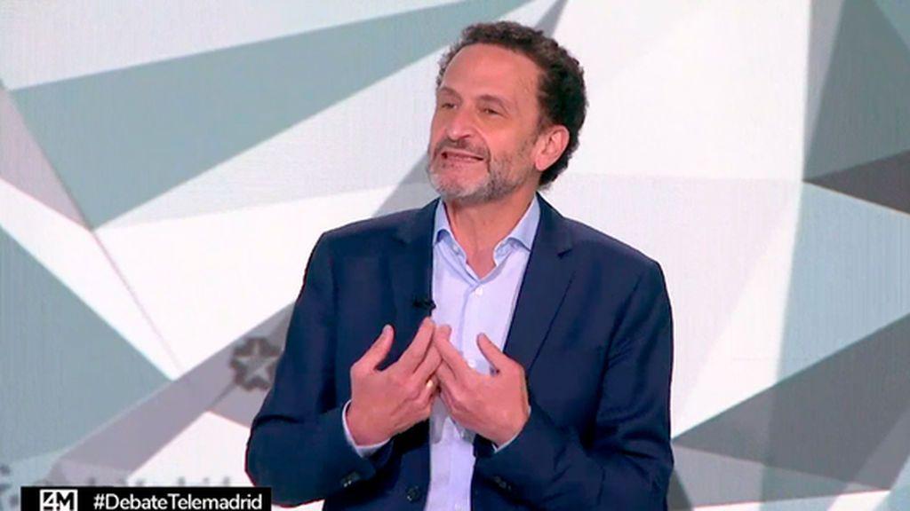 Edmundo Bal en el debate del 4M