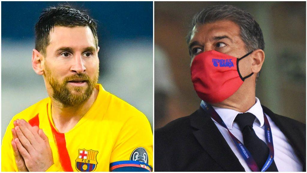Messi ve con buenos ojos la oferta inicial de Laporta.