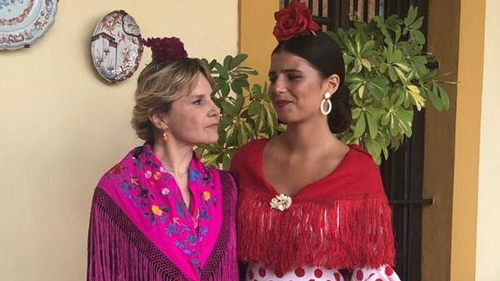 """Eugenia Martínez de Irujo y su hija Tana Rivera, como dos gotas de agua: """"Sois idénticas"""""""