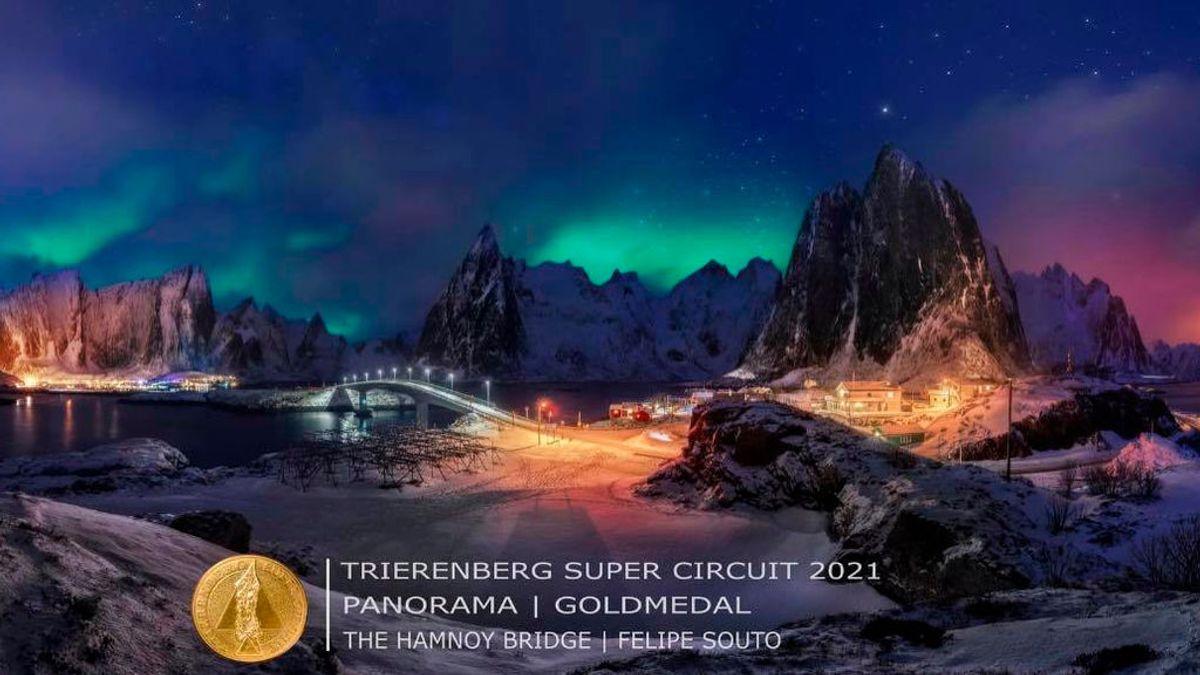 La impresionante aurora boreal con la que un español ha ganado los 'Óscar de la fotografía'