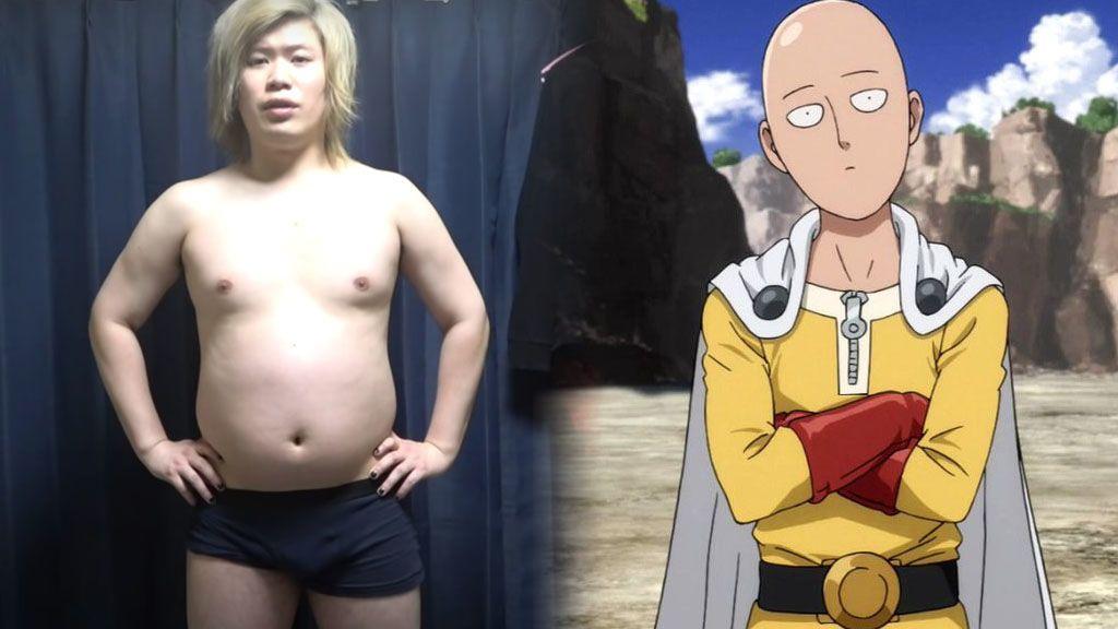 La increíble transformación física de un joven que siguió la dieta de un personaje de anime