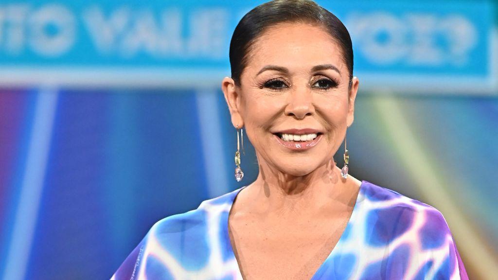 Isabel Pantoja, en la presentación de 'Top Star'