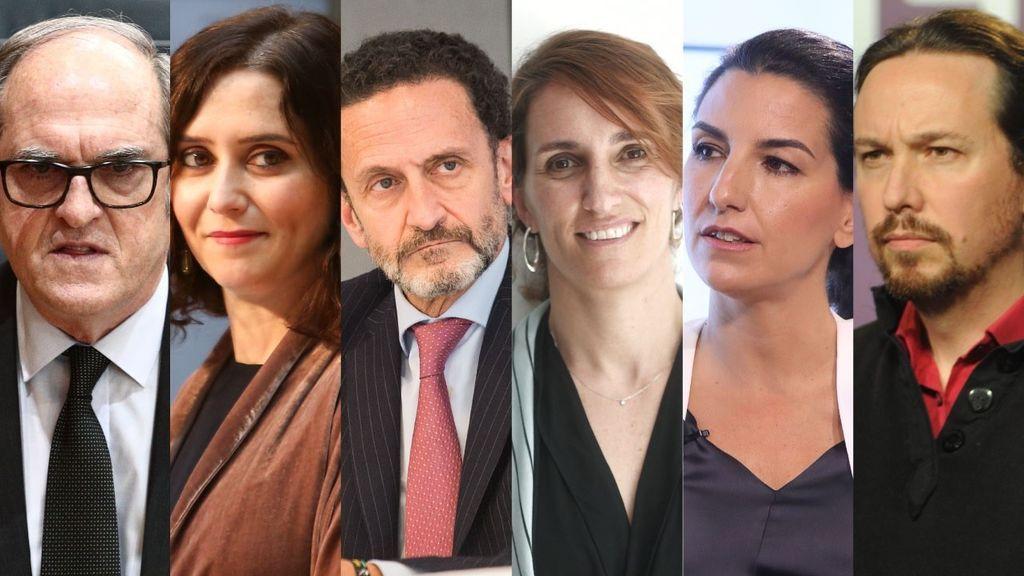 candidatos Madrid 4M