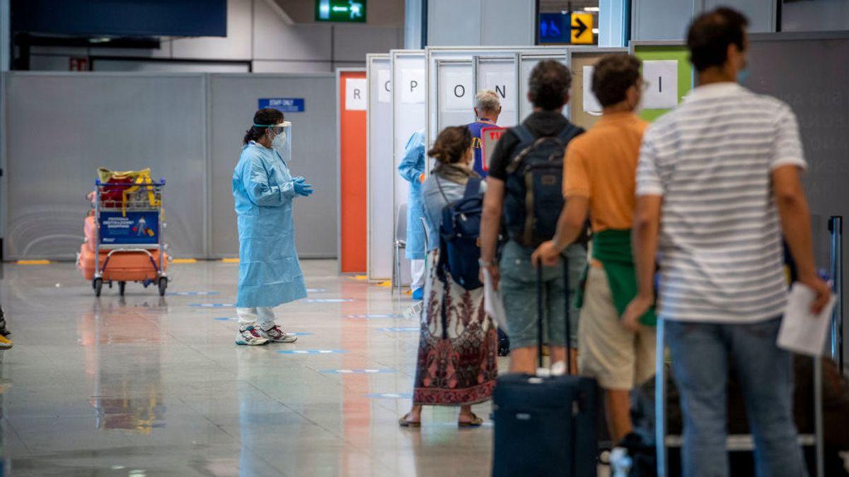 Temor en Italia por la variante india: detectan 23 positivos en Roma de un vuelo procedente de Delhi