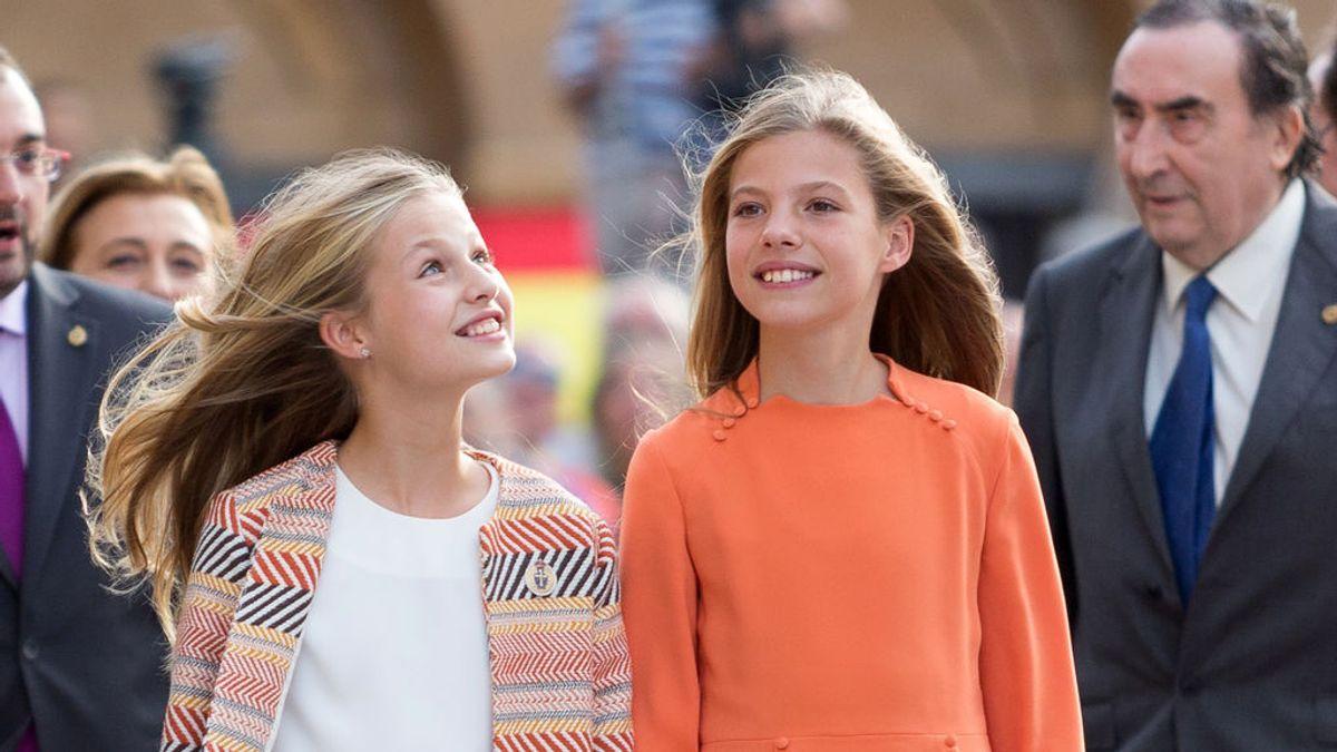 La infanta Sofía cumple 14 años a punto de separarse de su hermana Leonor
