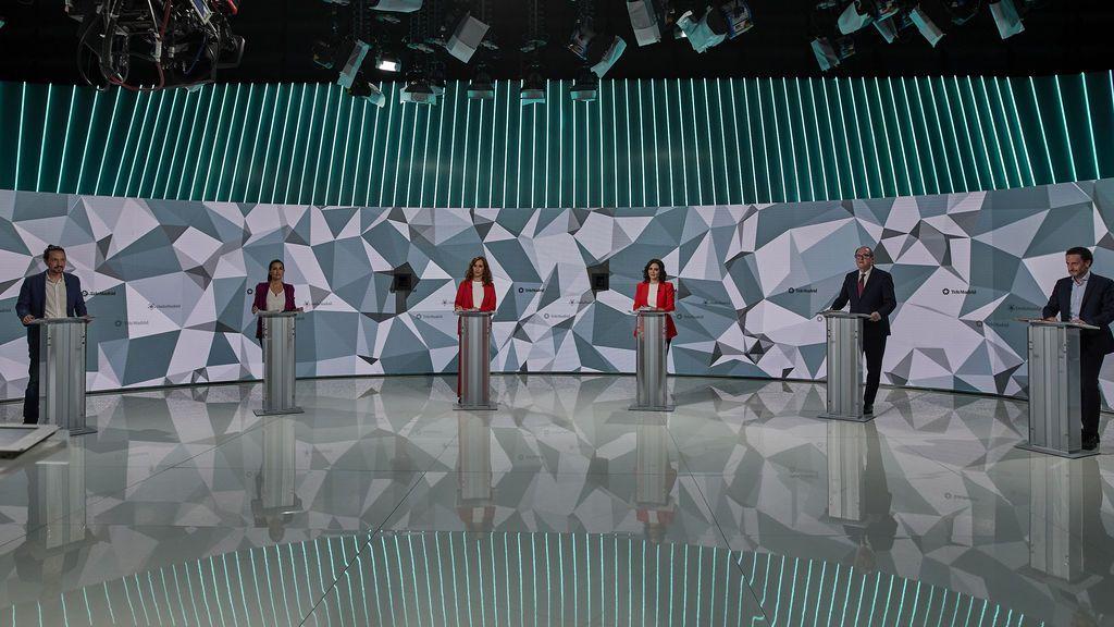 La comunicación no verbal de los candidatos en la campaña del 4M