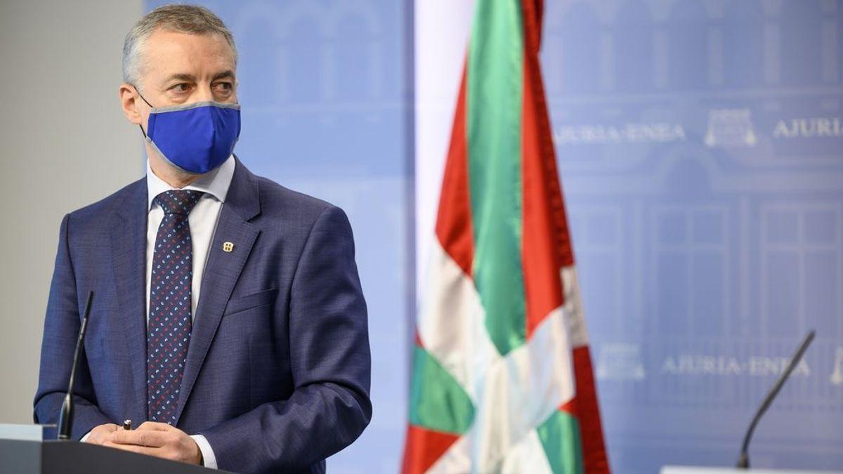 """Urkullu rechaza un estado de alarma a la carta porque """"la pandemia es global"""""""