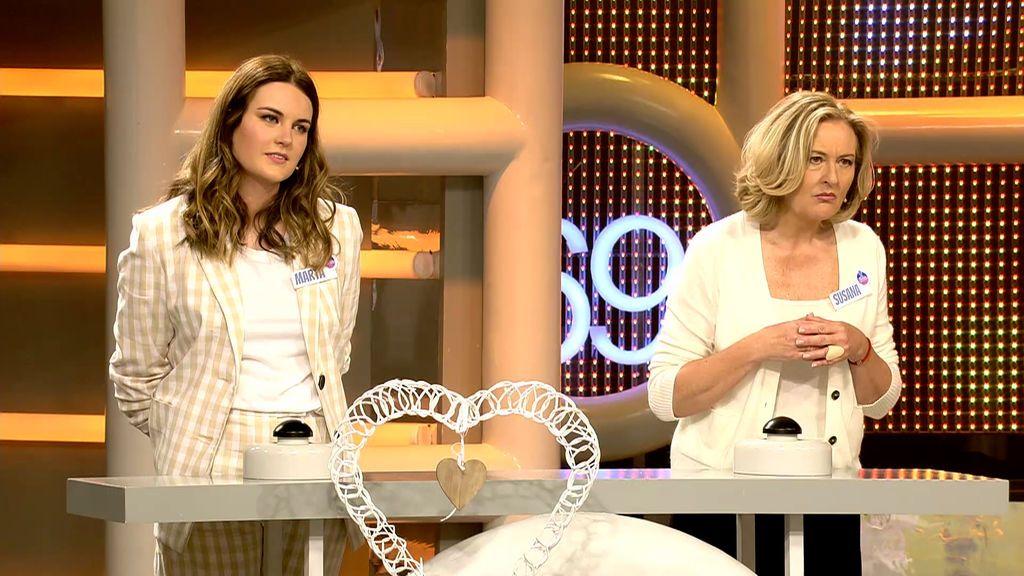 Susana y Marta en 'El concurso del año'