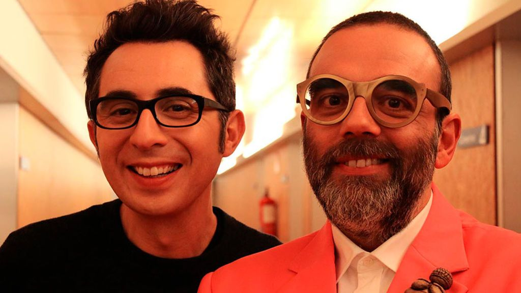 Berto Romero y Bob Pop
