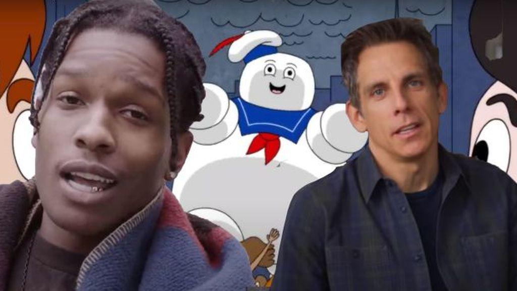 Have-A-Good-Trip-Ben-Stiller-ASAP-Rocky-stay-puft-marshmallow-man
