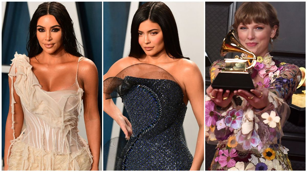 Kim Kardashian, Kylie Jenner, Taylor Swift y otras famosas milmillonarias de Forbes: ¿de dónde vienen sus fortunas?